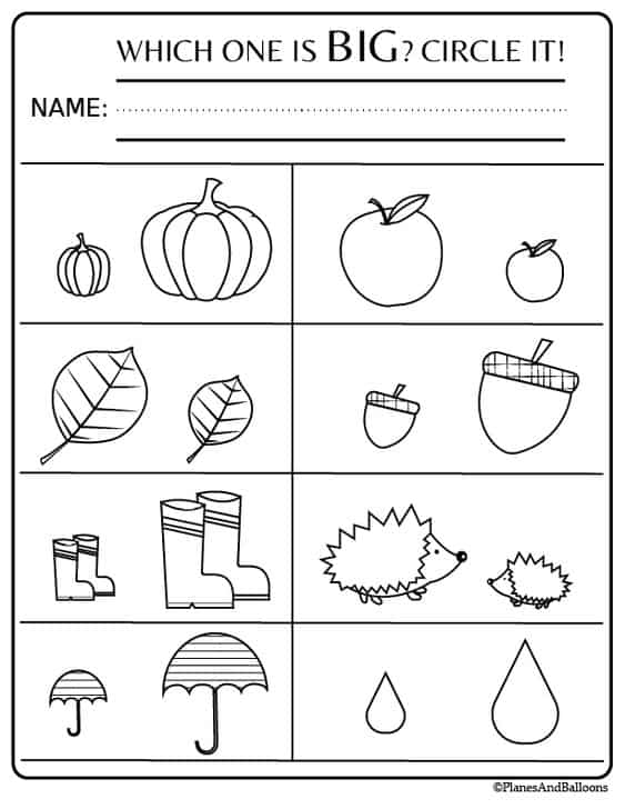 Learning Printables For 2 Year Old - Oh Happy Joy!